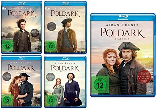 Poldark - Staffel 1 - 5 im Set - Deutsche Originalware [10 Blu-rays]