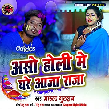 Aaso Holi Me Ghare Aaja Raja - Single