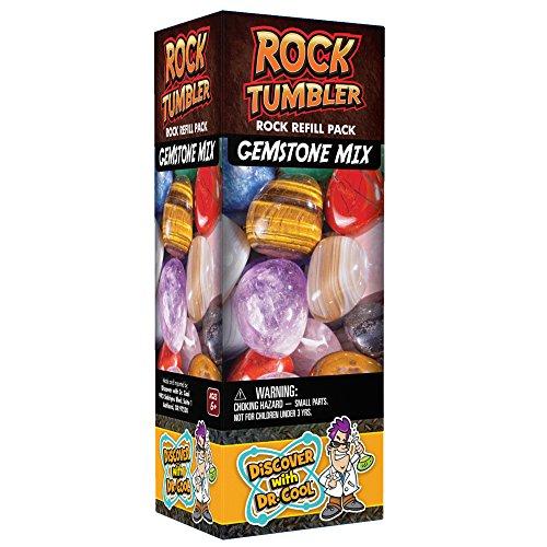 Repuesto para Pulidora de Rocas  Nueve Variedades de Gemas en Bruto (1lb) , Modelos/colores Surtidos, 1 Unidad