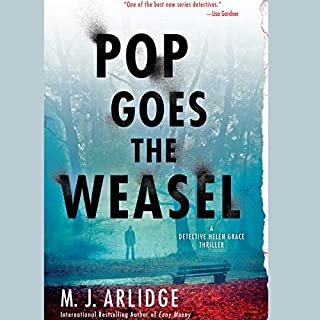 Pop Goes the Weasel audiobook cover art