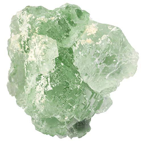 SUNYIKNaturalRoughRawGreen Fluorite Crystal Bar GemstoneClusterSpecimenMineralHealingCrystalPointStoneHomeDecorIrregularShaped, 0.2-0.4lb, 1.2-2.1 inches