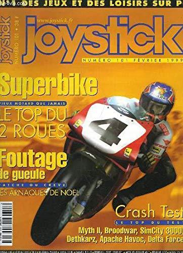 Joystick N°101 : Superbike, le top du 2 roues - Foutage de gueule, Patche ou Crève - Crash Test ... Accompagné d'un CD-ROM