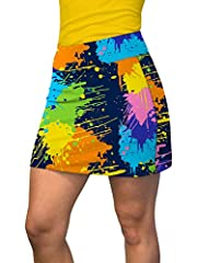 88% POLYESTER / 12% SPANDEX! A cotton-spandex blend, our active skorts deliver comfort and style like no other pant. Perfect for a round of golf and an afternoon with your buddies TRUE TO SIZE! Order with confidence knowing these active skorts fit tr...