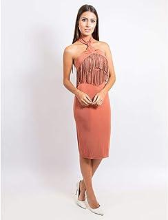 5bc0db1336 Moda - Bege - Vestidos   Roupas na Amazon.com.br