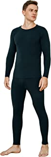 INNERSY Men's Thermal Underwear Set Soft Base Layer Long Sleeve Warm Top & Bottoms for Winter