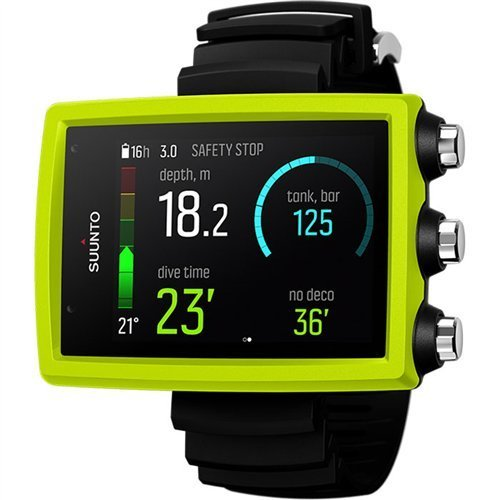 SUUNTO Eon Core Wrist Computer with USB, Eon Core Lime, Without Transmitter