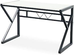 LJBH Computer Desk Desk, Steel-wood Desk, 1.2 Meters, Reinforced, Multifunctional Home Desktop Bedroom Writing Desk Learni...