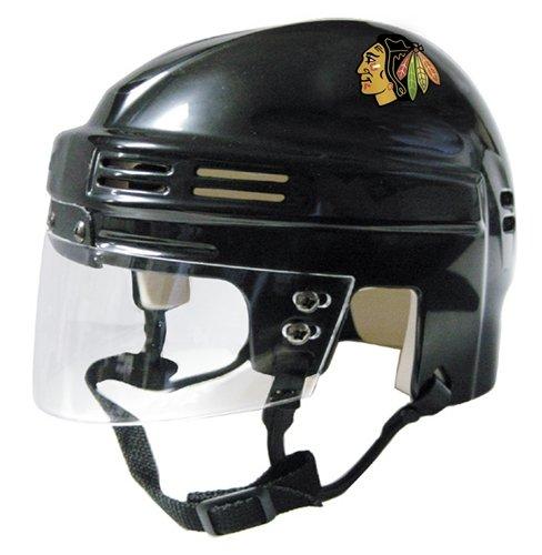 SportStar NHL Chicago Blackhawks Replica Mini Hockey Helmet, Away