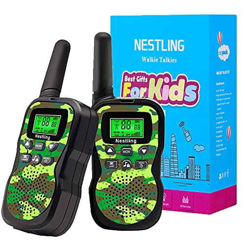 Nestling Walkie Talkie para niños,...