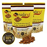 Nadanut Pecan, Pecan Substitute, Nut Allergy Safe, Crunchy Good Nutty Taste, Healthy & Nutritious, 8oz Resealable Bags (6 pack)