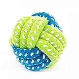 CAOQAO Chien Corde Jouets Tricot à Pet Rope Chew Toy Teaser Candy Color,Jouets à MâCher De Corde De Coton Durable pour Le...
