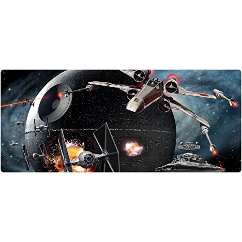 Star Wars Gaming Mouse Pad XXL Large Mouse Mat Keyboard Mat Extended Mousepad for Computer Desktop PC Laptop Mouse Pad (Color : P, Size : 700x300x3mm)