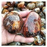 1 unids Natural Sardonyx Cristales de cuarzo Palm Piedra Reiki Curación de las piedras y cristales Fountain Decoración for el hogar for la venta de regalos Curación de piedra Dinero Dibujo Riqueza For