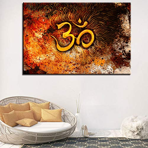 tzxdbh Citas de islamismo musulmán Abstracto Art s Painting HD Print Wall Art Modular Poster Dormitorio Decoración Imagen para Sala de Estar
