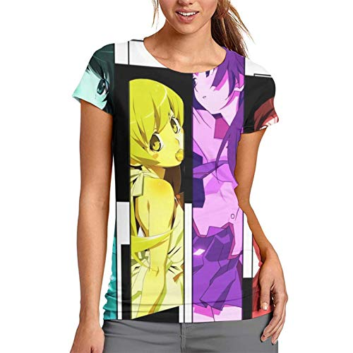 Nueey Bake-Monogatari - Camiseta deportiva para mujer