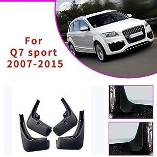 LDXCT Juego de 4 Piezas de Protectores contra Salpicaduras de Salpicaduras de Barro Delanteras y traseras para Audi Q7 2007-2015, diseño de Guardabarros y Accesorios de carrocería