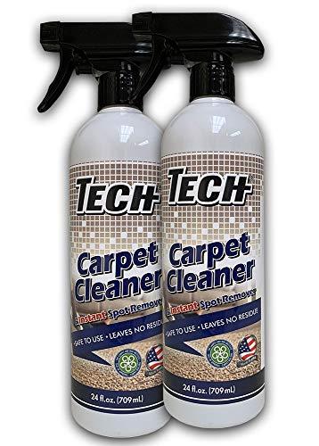 TECH Carpet Cleaner & Instant Spot Remover 24 oz - 2 pk - For Tough Stains On Carpet