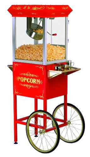 Purchase Elite Deluxe EPM-400 Maxi-Matic 8 Ounce Old-Fashioned Popcorn Popper Machine with Trolley, ...