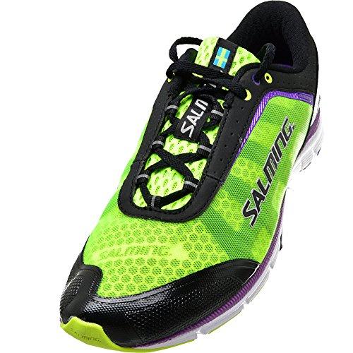 SALMING Speed Schuhe Damen Laufschuhe Sportschuhe Schwarz 1280023-0101, Größenauswahl:39 1/3