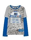 Desigual TS_Oskar T-Shirt, (Gris Vigore Claro 2042), 128 (Taille Fabricant: 7/8) Garçon