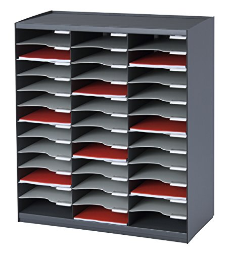 Paperflow Master Literatur-Organizer 36 Compartment anthrazit