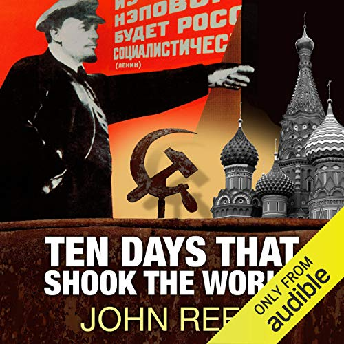 Ten Days That Shook the World audiobook cover art