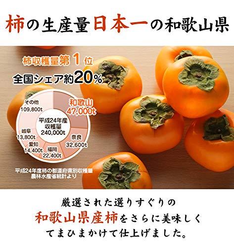 無添加干し柿 紀州自然菓 あんぽ柿 9個入(化粧箱入)