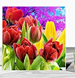 DIY Diamond Painting Numbers Kits Diamond Stones Flowers Mosaic Flower Picture of Rhinestones Embroidery