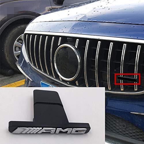 LLCWER FüR Amg Mercedes W212 W202 W211 W210 W205 Cla CLS Glk Ml Gt Amg Logo KüHlergrill Aufkleber Emblem Abzeichen Aufkleber Front Grill Aufkleber Auto Styling