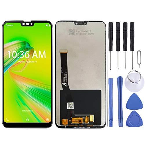 Pantalla LCD y digitalizador de montaje completo para Asus Zenfone Max Plus (M2) / Tiro ZB634KL, accesorio de cuidado personal (color negro)