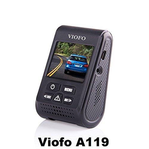 Viofo A119 1440P 30fps Car Dash Camera (V2 Model) + 90 Degree miniUSB Adapter