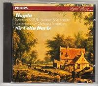 Symphonies 93, 94 & ,96 by Haydn (1981-07-28)