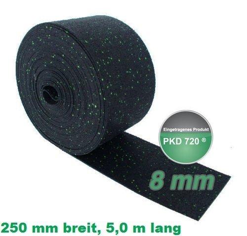 PKD 720 Antirutschstreifen 25 cm breit, 5,0 m lang, 8 mm stark