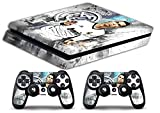 Skin PS4 SLIM ? CRISTIANO RONALDO REAL MADRID ? Limited Edition Decal étuis de protection pour faceplates Playstation 4 Sony BunDLE