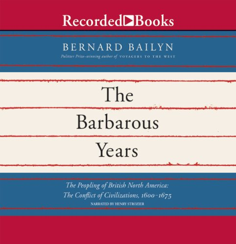 The Barbarous Years audiobook cover art