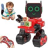 HBUDS Robot di Controllo Remoto RC, Giocattolo di Robotica di Controllo del Suono Touch Ri...