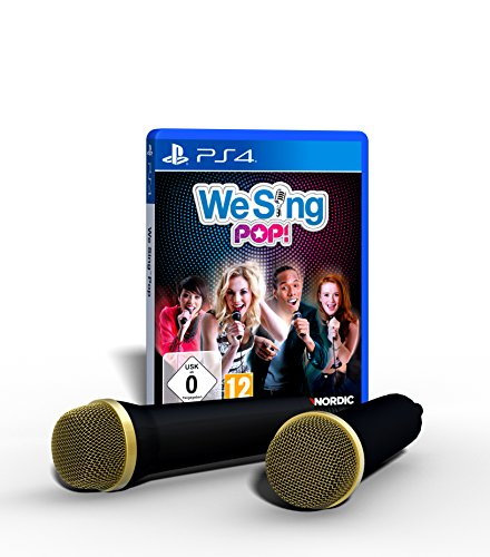 We Sing Pop! inkl. 2 Mikrophone [PS4] [PlayStation 4 ]