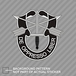 RDW Army Special Forces Sticker - Die Cut - Decal Green Berets U.S. US United States 1.25