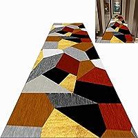 廊下敷きカーペット 保育園/子供部屋のためのマルチカラーのエリアラグ、ティーン向けのモダンなカーペットランナー ノンスリップバッキング、カスタムの長さ (Size : 140×600cm)