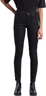 Calça Jeans Levis 711 Skinny Feminino Preto