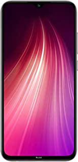 Xiaomi Redmi Note 8 Smartphone, Dual SIM, 128GB, 4GB RAM, Moonlight White