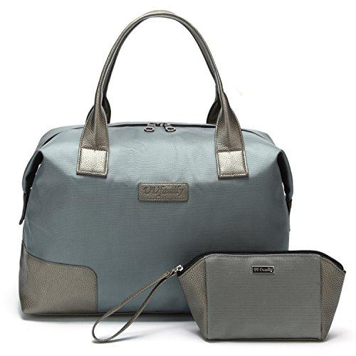UU Family Oxford impermeabile, borsa da viaggio set, Gray (Multicolore) - UUJ706C