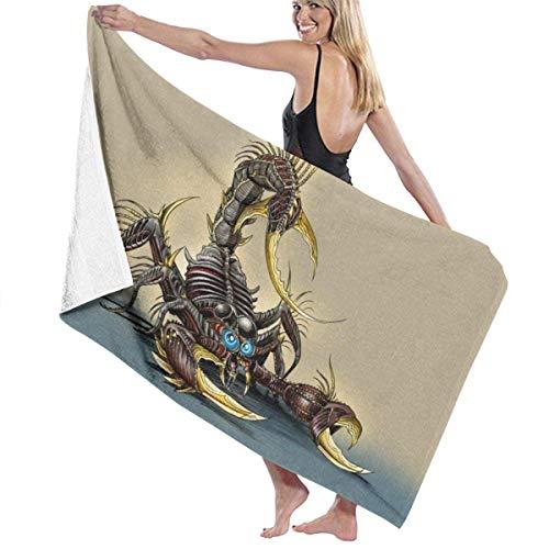 erjing Animal Pattern Bath Towel Soft Absorbent Quick Dry Towels For Sports Travel Pool Bath,130cm×80cm