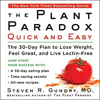 The Plant Paradox Quick and Easy audiobook cover art
