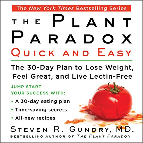 Couverture de The Plant Paradox Quick and Easy