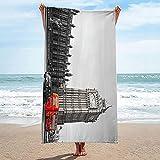 Toalla de Playa de Microfibra 90x180cm Brazo del Cementerio de Terror Nadar Playa Toallas Piscina Seque Rápidamente Absorbente prevención de Arena para Viaje Picnic