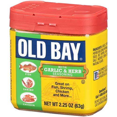 OLD BAY Garlic & Herb Seasoning, 2.25 OZ