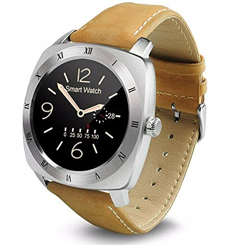 Dm88 1.22 Pulgadas TFT IPS Mtk2502c 320mAh Pantalla Bluetooth 4.0 para iOS Reloj Inteligente Android