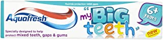 Aquafresh Big Kids Fresh Mint Toothpaste 3-pack,50ml Each