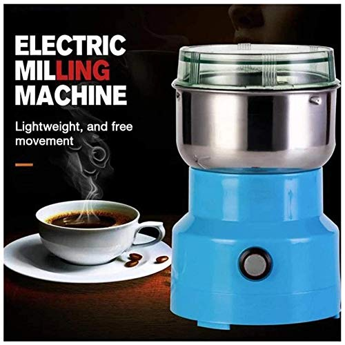Multifunction Smash Machine,Electric Dry Cereals Grain Grinder,Coffee Bean Seasonings Herbs Spices Nuts Pepper Mill Fine Powder Machine Pulverizer